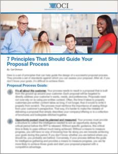 7 Principles That Should Guide Your Proposal Process